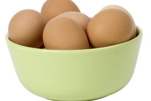 Información nutricional del huevo duro frente al huevo frito