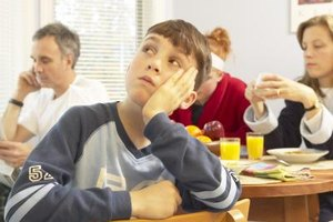 Teens can fix quick breakfasts, such as scrambled eggs and smoothies.
