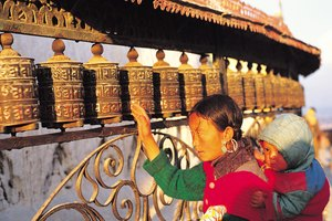 Function of the Tibetan & Buddhist Prayer Wheel