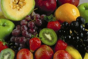 Pectin occurs naturally in fruits and vegetables.