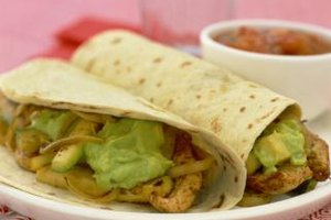 Flour, spinach or whole wheat tortillas work well for wraps.