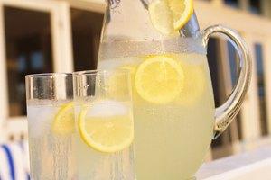 Calorías en la limonada casera