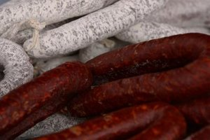 Smoked sausages can last for months at room temperature.