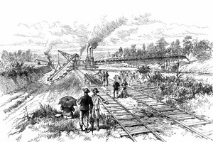 How Did the Panama Railroad & Canal Affect Population?