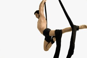 Ejercicios acrobáticos