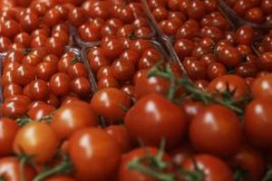 Reach for tomatoes with skins that are firm and taut.