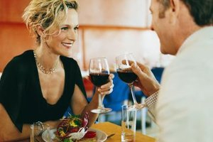 Ask your date friendly questions over a romantic dinner.