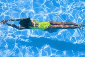 Keep your swimsuit bright by properly protecting it from pool chemicals.