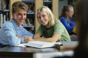 Use study sessions as a way to get to know a girl in your class.