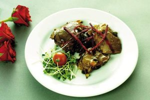 Slow-cooked lamb is juicy and flavorful.