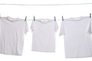 How to Take Out Wine Stains From a White Shirt