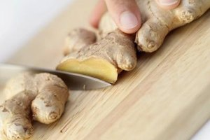 Fresh or dried ginger can be used as a substitute for galangal powder.