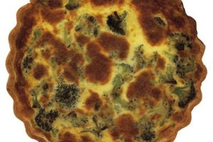 Broccoli quiche makes a delicious meatless dinner.