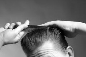 The classic pompadour requires little more than pomade, a comb and a good barber.