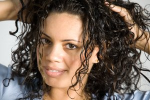 How to Do That Wet Curly Look