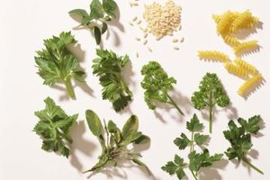 Italian herbs impart a depth of flavor to your dish.
