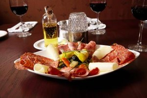 Super Tuscan wine pairs well with a variety of dishes including antipasto.