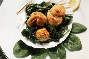 Frozen scallops cook perfectly after thawing.