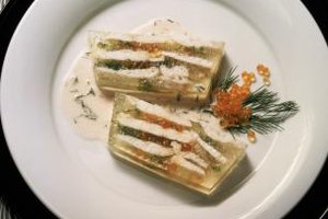 Poached roe can be used in elegant seafood terrines or dips.
