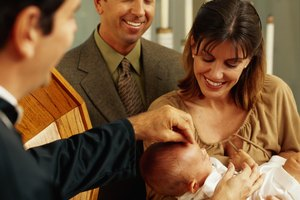 Etiquette for the Baptism of a Child in the Catholic Church