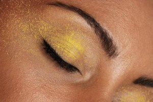 A light application of shimmery eye shadow makes you appear more alert.
