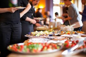 """The main rule of buffet service is, """"Keep cold foods cold, keep hot foods hot."""""""