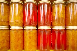 Jars of homemade preserves and canned foods remain food safe for extended periods.