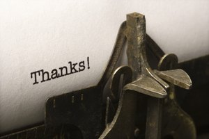 How to Write a Thank You Note to a Priest