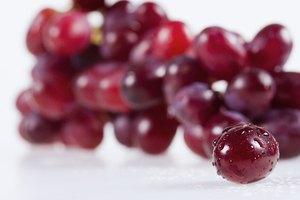 ¿Cuál es el valor nutritivo de las uvas rojas?