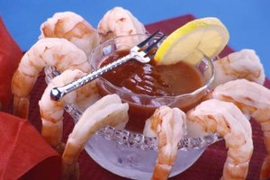 Shrimp cocktail is a classic appetizer.