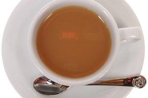 ¿Provoca el té efectos deshidratación?