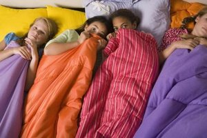 Expect plenty of silliness and giggles at your child's sleepover.