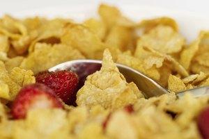 Información nutricional de los copos de maíz