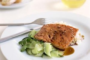 Salmon, which contains high levels of Omega-3, is a heart-healthy food.