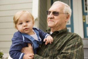 Work to be a stable influence in your grandchild's life during a divorce.