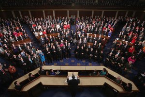 What Is Different About the Congress Seating Arrangements in the State of Union?