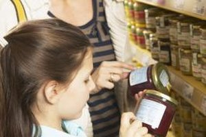Teach your child how to read labels so she is prepared for her own shopping days.