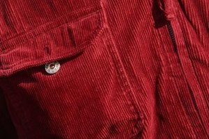 """Vertical ribbing -- also called """"wales"""" -- is just one difference between corduroy and denim."""