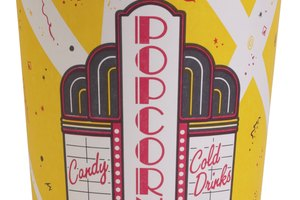 Carbohidratos y nutrición de las palomitas del cine
