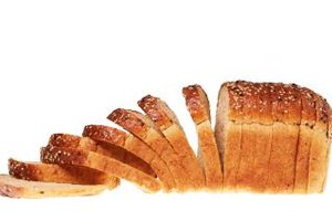 Many types of bread provide a healthy dose of fiber and complex carbohydrates with minimal fat.