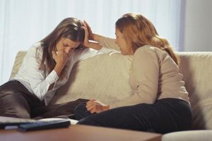 Offer your friend a helping hand while coping with divorce and infidelity.