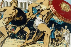 What Did Ancient Greek Olympians Put on Their Heads?