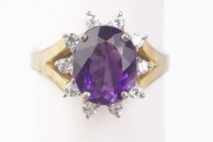 How to Polish a Dull Amethyst Ring Stone