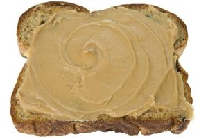 A slice of toast with peanut butter can be an excellent source of protein at breakfast.