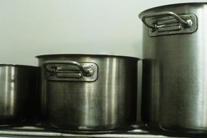 Large meals are easier with restaurant-sized pots.