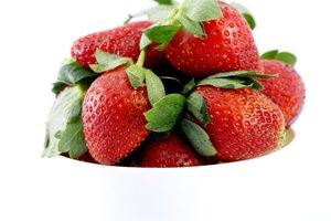 El recuento de carbohidratos en las fresas