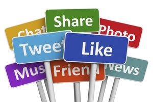 How to Put Twitter & Facebook Accounts on a Business Card