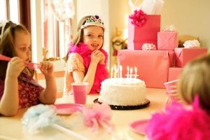 Four Year Old Girls Enjoy Themed Birthday Parties Planned Around Their Favorite Characters And