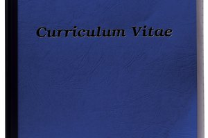 How to Make a Curriculum Vitae in Philosophy for Graduate School