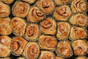Freeze sticky buns to cook at your convenience.